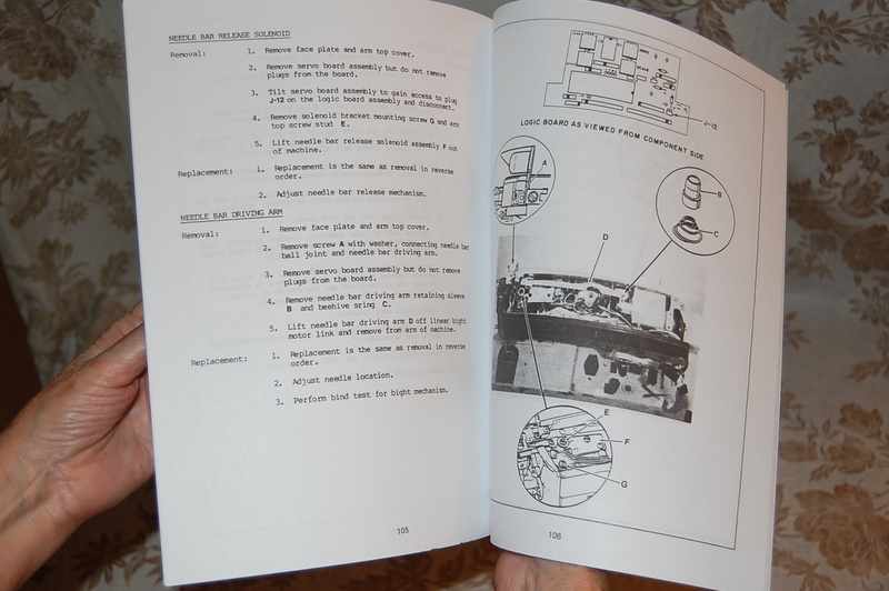 singer touch tronic 2010 service manual