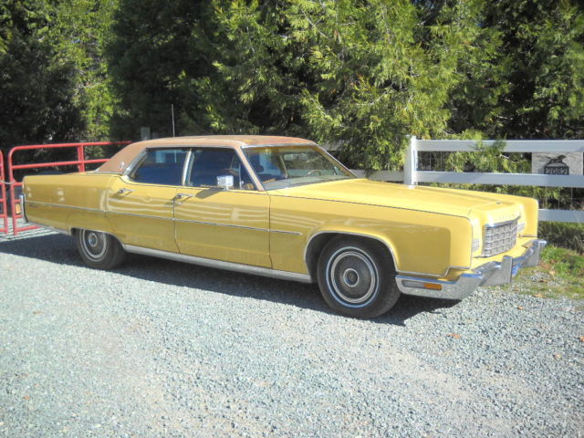1965 lincoln continental owners manual