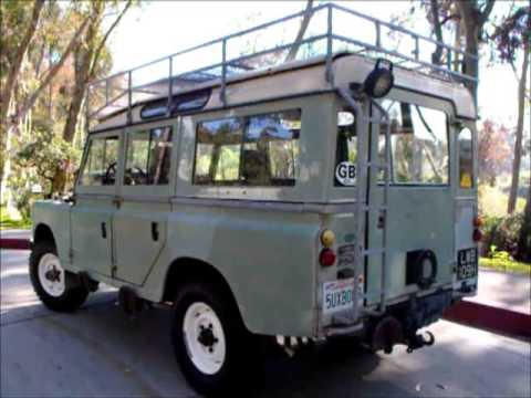 1970 land rover series 2a owners manual