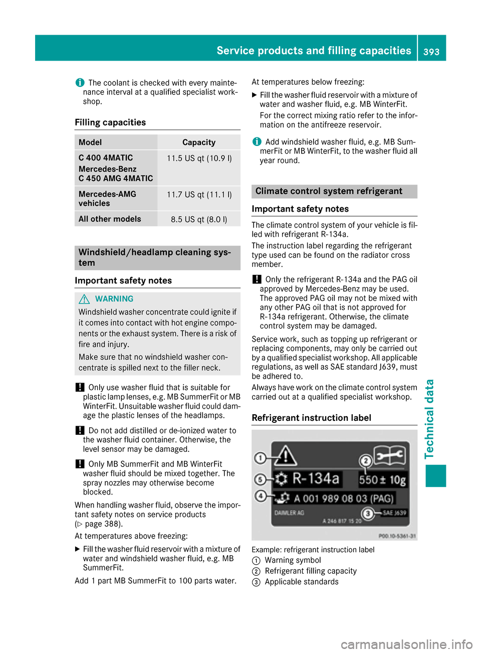 mercedes benz w205 owners manual
