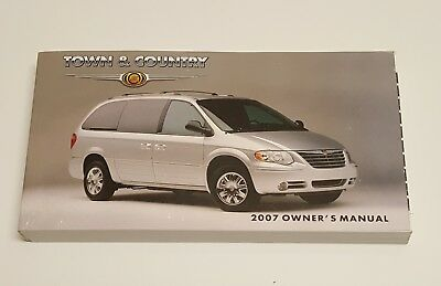 1999 chrysler town and country limited owners manual