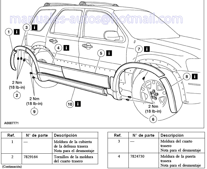 2006 ford escape v6 owners manual