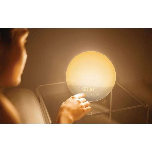 coulax wake up light user manual