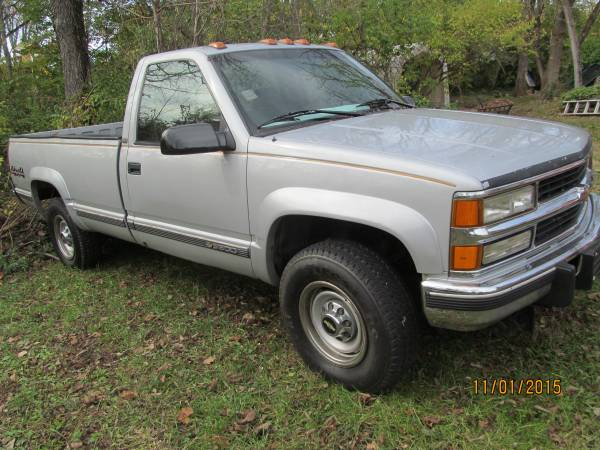 1995 chevy c1500 owners manual