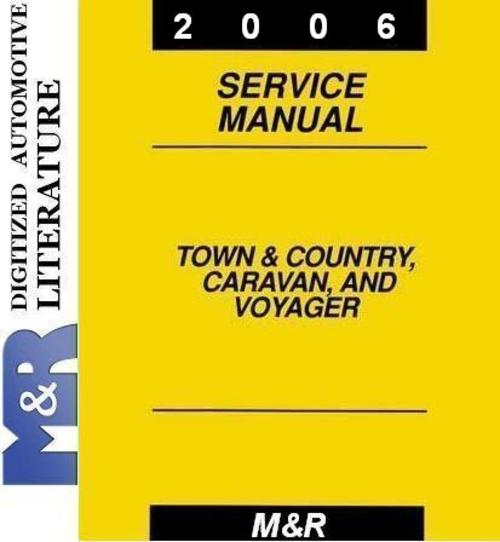 2006 town and country owners manual pdf