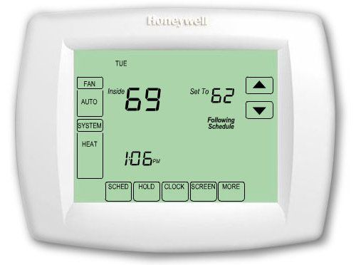 honeywell thermostat th6110d1021 owners manual