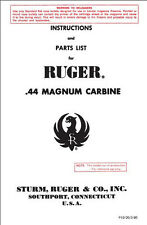 ruger sr 556 owners manual